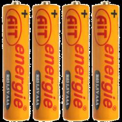 baterie AIT  R03 AAA Silver 4ks - 103