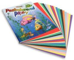 barevné papíry pestrobarevné 20 listů H
