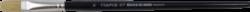 štětec Tempus plochý lak 10-prasečí štětiny, plochý, násadka lakovaná v lesklé černé barvě