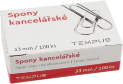 spony kancel. Tempus 33mm 100ks
