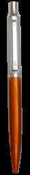 kuličkové pero 880 kovové oranžové v krabičce-kovové tělo