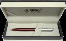 kuličkové pero  Harmonia - červená-psací souprava Regal