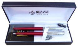 kuličkové pero + roller Harmonia - červená-psací souprava Regal