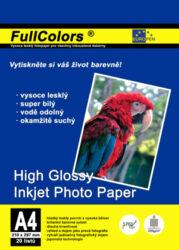 fotopapír Europen A4 230 g  20 ks vysoce lesklý
