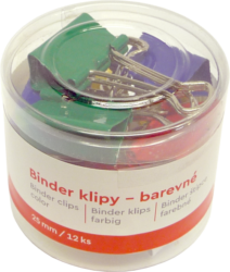 klip Binder barevný Tempus  25mm  (8594033823931)