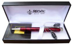 pouzdro kožené Regal na 1 tužku hnědé