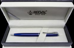 kuličkové pero  Arachne - modrá-psací souprava Regal