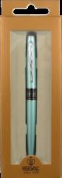 pero bombičkové Regal 297 kovové tyrkysové světlé v krab.(8594033824297)