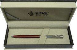kuličkové pero Lane - červená-psací souprava Regal