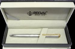 inkoustové pero Harmonia - stříbrná-psací souprava Regal