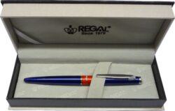 kuličkové pero  Mercurius - modrá-psací souprava Regal