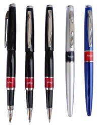 kuličkové pero + inkoustové pero Mercurius - černá(8594033824617)
