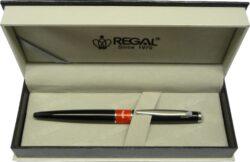 kuličkové pero  Mercurius - černá-psací souprava Regal