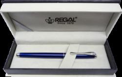 inkoustové pero Arachne - modrá-psací souprava Regal