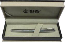 inkoustové pero Hadrian - stříbrná-psací souprava Regal
