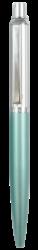 kuličkové pero 686 kovové tyrkysové světlé v krab.-kovové tělo