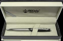 kuličkové pero  Themis - černá-psací souprava Regal
