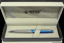 kuličkové pero  Themis - modrá-psací souprava Regal