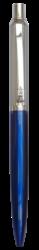kuličkové pero 884 kovové modré v krabičce-kovové tělo
