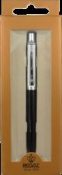 kuličkové pero 907 kovové černé v krabičce(8594033824907)