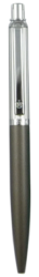 kuličkové pero 126 kovové šedé v krabičce-kovové tělo