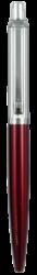 kuličkové pero 133 kovové červené v krabičce-kovové tělo