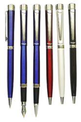 kuličkové pero + roller Katherine - modrá(8594033825294)