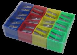 ořezávátko Europen plast.hranaté na 2 tužky(8594033825348)