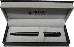 kuličkové pero Wellington - hnědá-psací souprava Regal