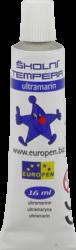 barvy temperové Europen modrá-!!! PRODEJ POUZE PO BALENÍ !!!