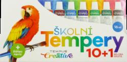 barvy  temperové  Europen 10 + 1-barvy temperové Europen 11 x 16 ml