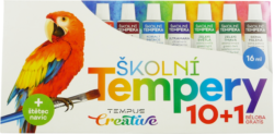 barvy  temperové  Tempus 10 + 1-barvy temperové Tempus 11 x 16 ml