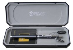 kuličkové pero  Reef - šedé-psací souprava Regal