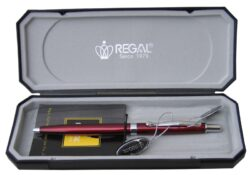 kuličkové pero  Reef - červené-psací souprava Regal