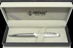 kuličkové pero   Themis - bílá-psací souprava Regal