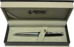 kuličkové pero  Golf - černá-psací souprava Regal