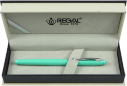inkoustové pero Alice - mátová-psací souprava Regal