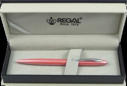 kuličkové pero  Alice - růžová-psací souprava Regal
