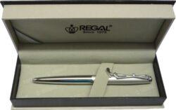 kuličkové pero  Golf - stříbrná-psací souprava Regal