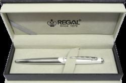 inkoustové pero  Themis - bílá-psací souprava Regal