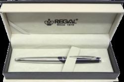 kuličkové pero   Themis - fialová-psací souprava Regal