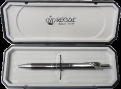 kuličkové pero Venus - šedá-psací souprava