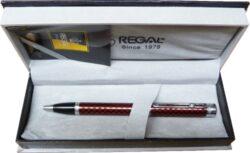 kuličkové pero  Ritz - červené-psací souprava Regal
