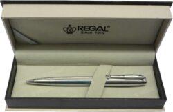 kuličkové pero  Hadrian - stříbrná-psací souprava Regal