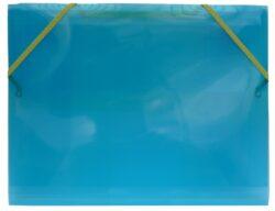 desky  3 klopy s gumou  Europen A4 modré