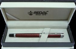inkoustové pero Ritz - červená-psací souprava Regal