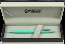 kuličkové pero  Alice - mátová-psací souprava Regal