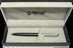 kuličkové pero  Harmonia - šedá-psací souprava Regal