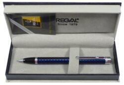 kuličkové pero  Ritz - modré-psací souprava Regal