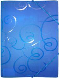 desky  3 klopy s gumou ARCHES A4 modré
